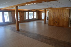 A different view of the remodeled Wolf Cove Inn grand room.