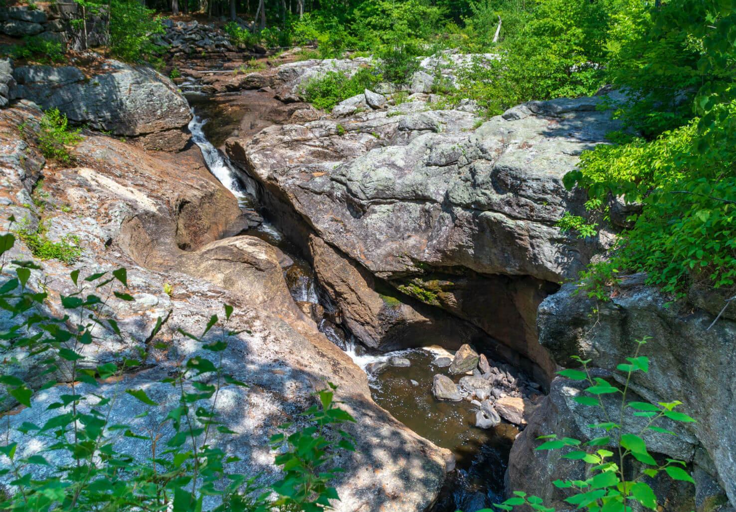Snow Falls Waterfall