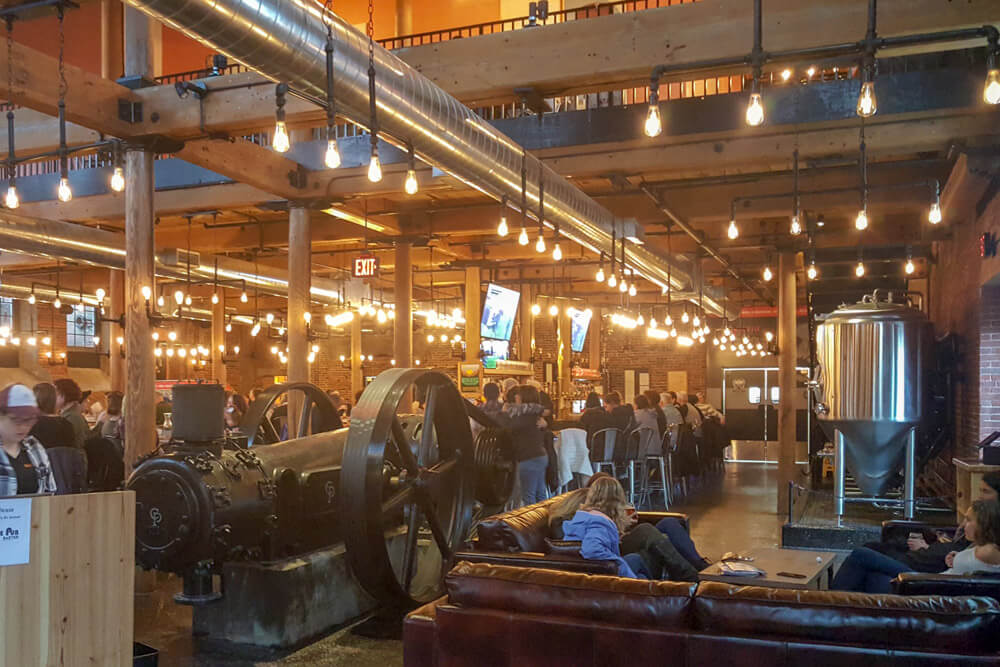Maine Breweries - Baxter Brewing Pub