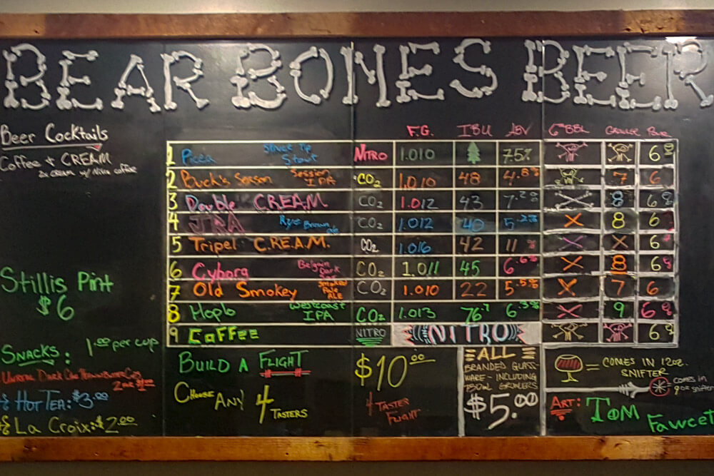 Maine Breweries - Bear Bones Nanobrewery