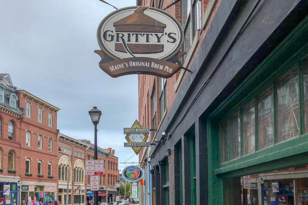 Maine Breweries - Gritty McDuffs