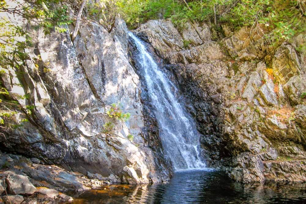 Poplar Stream Falls In Carrabassett Valley Maine