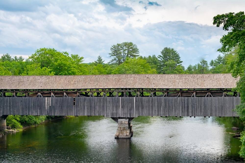 Porter-Parsonsfield Maine Covered Bridge