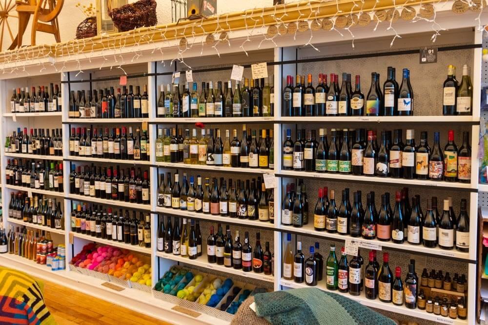 Fiber & Vine Craft Shop in Norway Maine