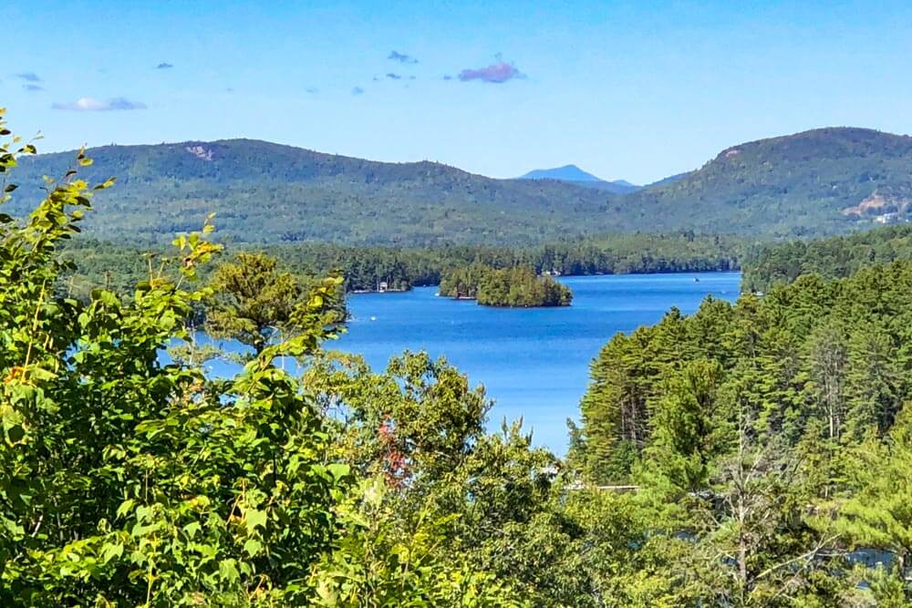 View of Lake Penneseewasee in Norway Maine
