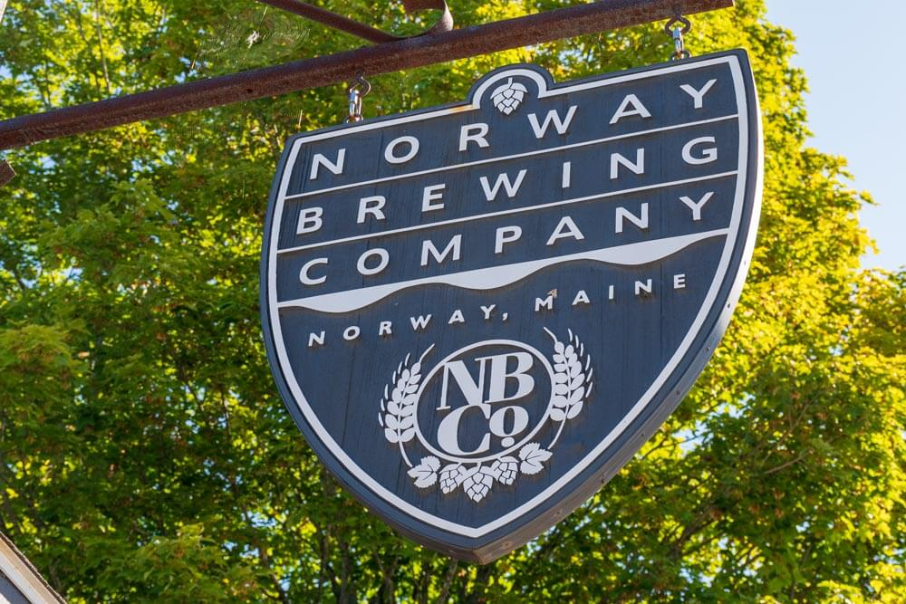 Norway Brewing Company Sign