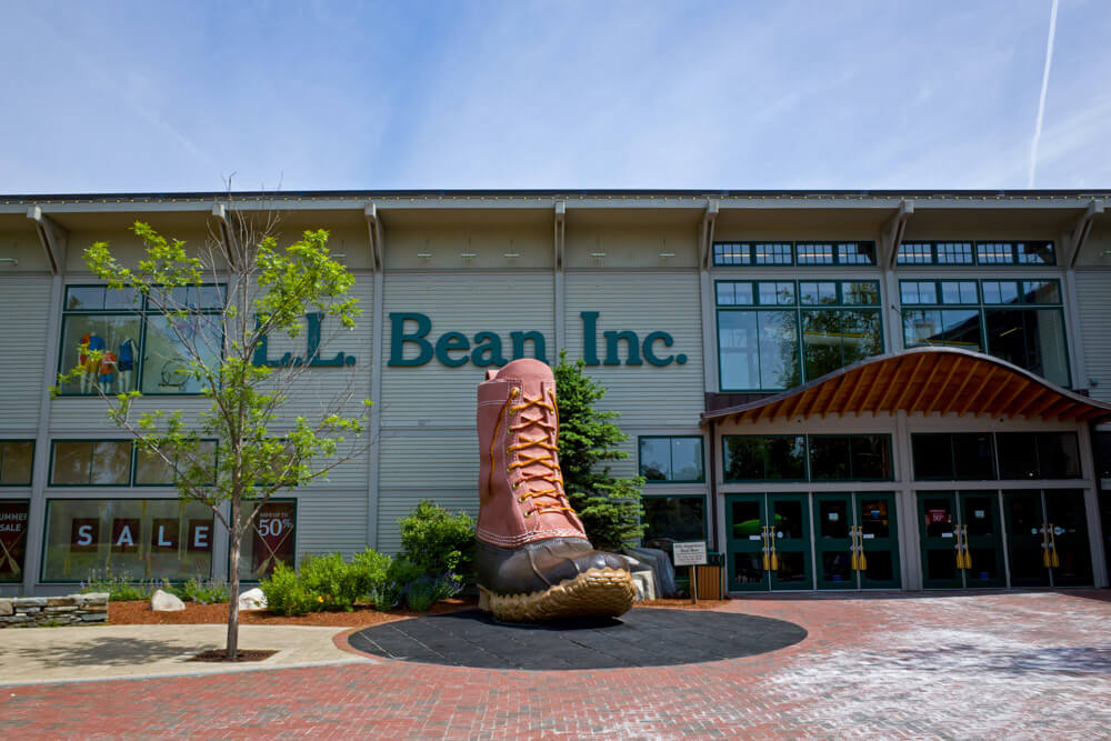 LL Bean Store In Freeport