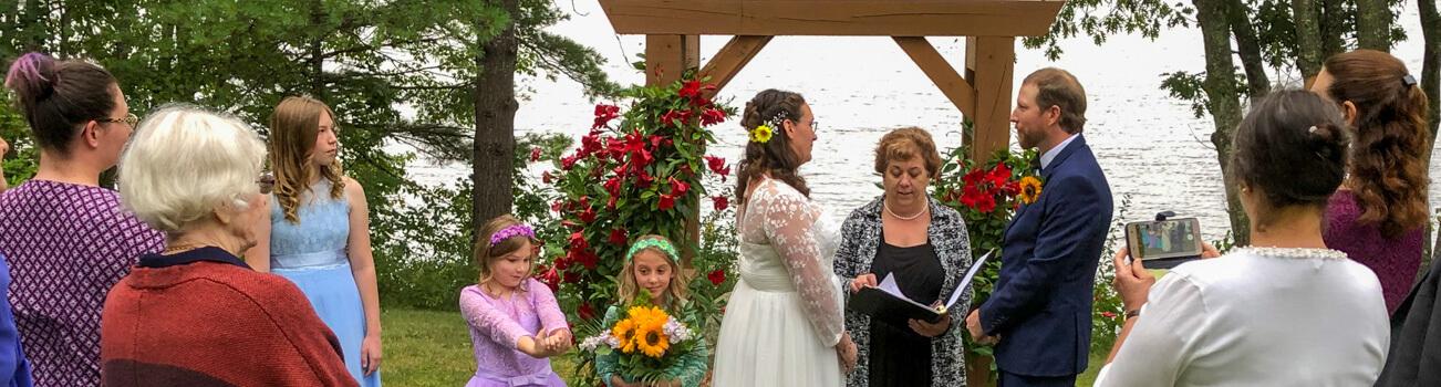 Lakeside Intimate Wedding
