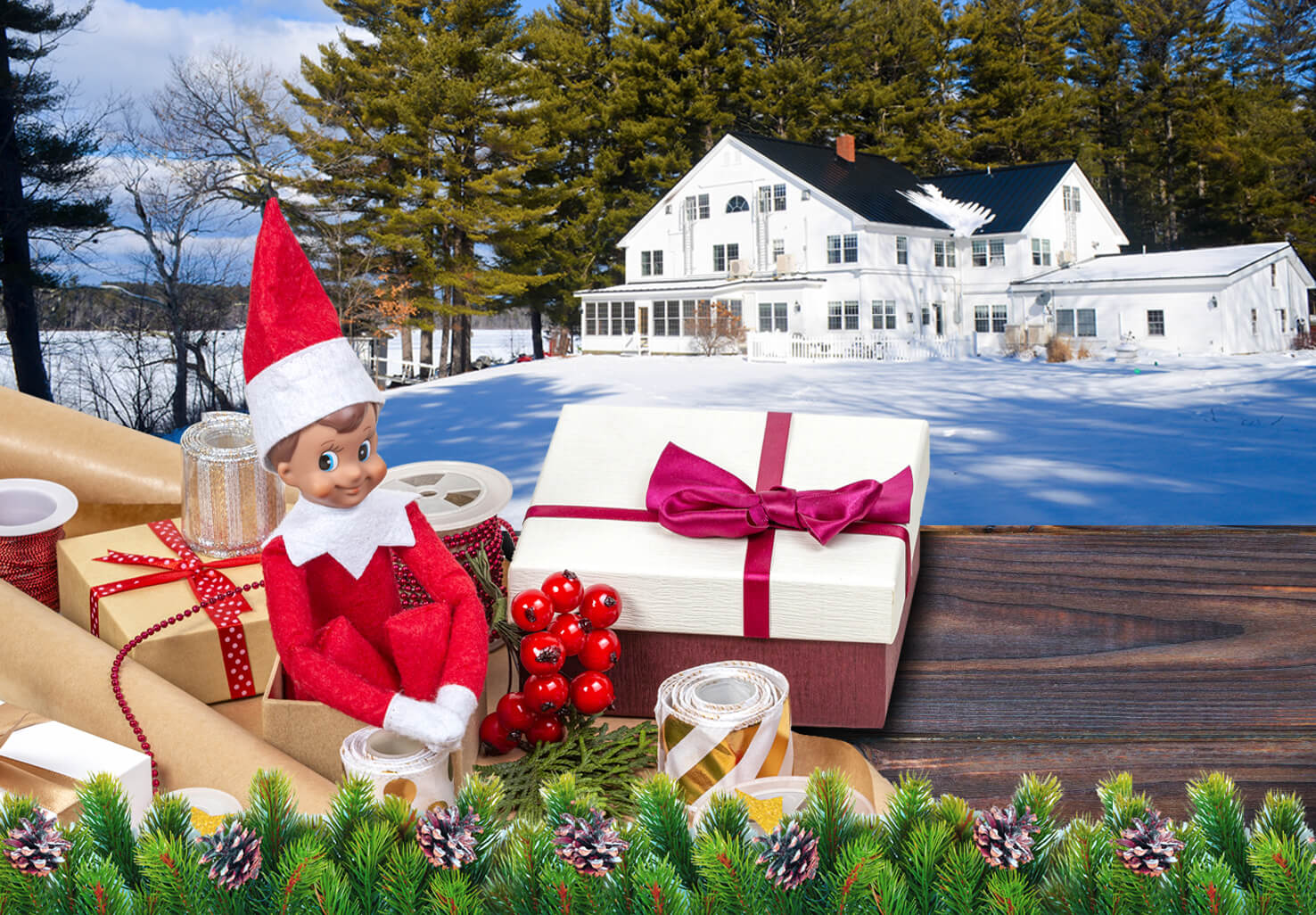 christmas themed special for wolf cove inn