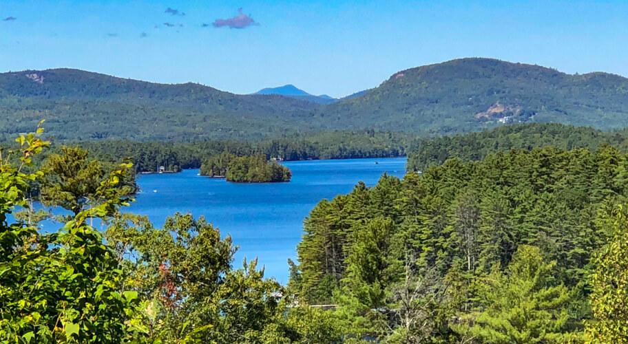 Lake Penneseewassee from Roberts Farm Preserve