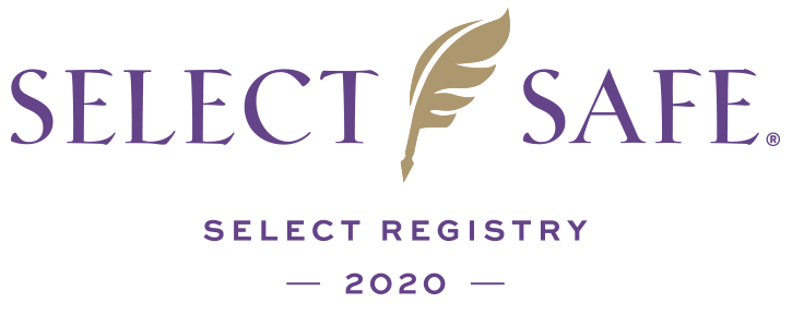 Select Registry COVID safety logo