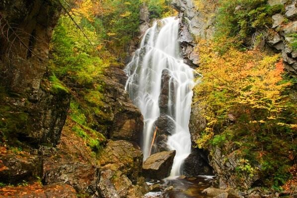 Angel Falls - one of the best Maine waterfalls