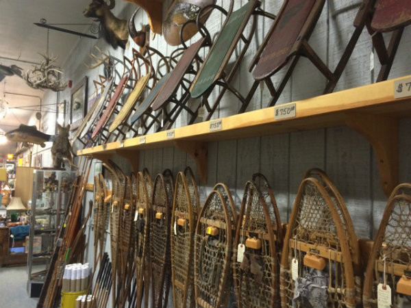 Winter Activities in Maine - Antique Shopping!