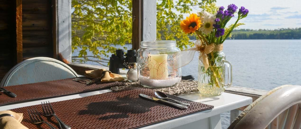 Ultimate Romance Dinner at our Romantic Maine Bed and Breakfast