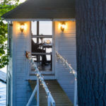 A view of our Romantic Maine Bed and Breakfast boathouse