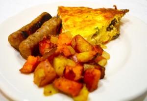 Quiche for Breakfast