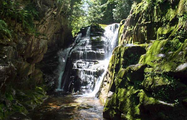 The Cataracts waterfalls in Northwestern Maine
