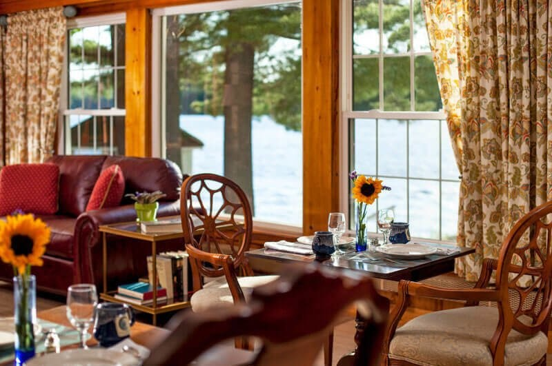 Dining At A Bed And Breakfast In Maine