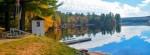 wolf cove inn Lake in fall