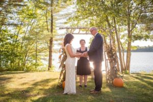 Lakefront Elopement in Maine