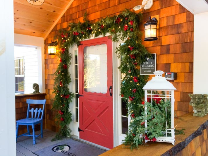 Wolf Cove Inn over the Holidays