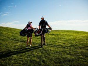 Golf-couple