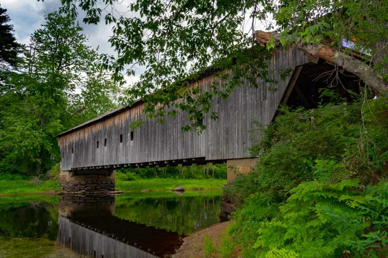 Visit Hemlock Covered Bridge During Your Maine Foliage Vacation