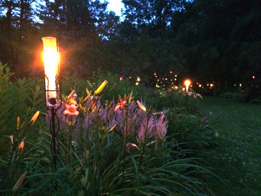 McLaughlin Garden Illuminated Event In July