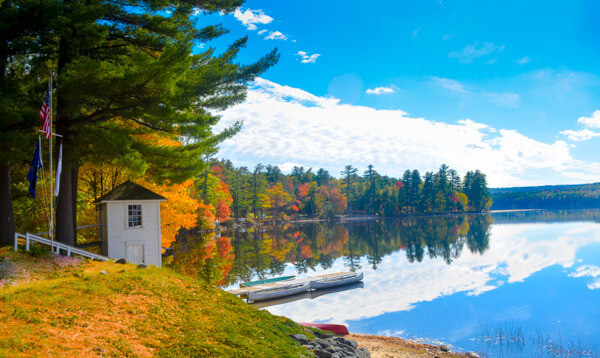 Maine fall foliage getaways