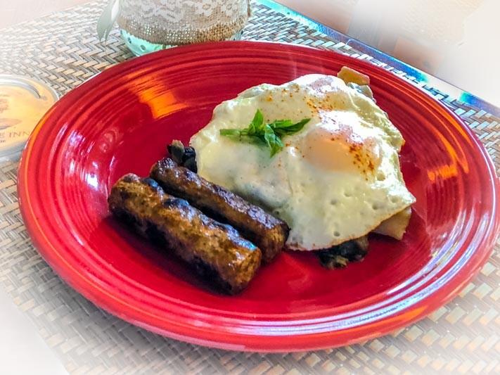 Mushroom Potato Hash
