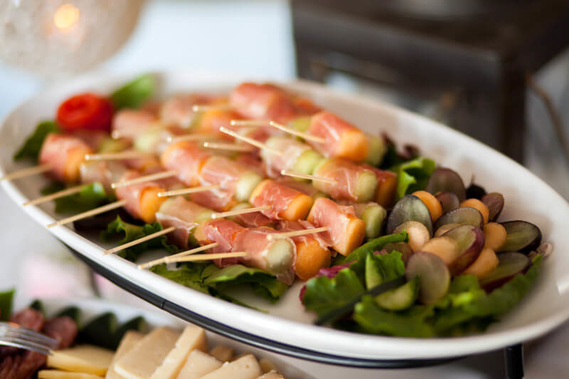 Prosciutto Melon Appetizer For Wedding Elopement Packages Reception