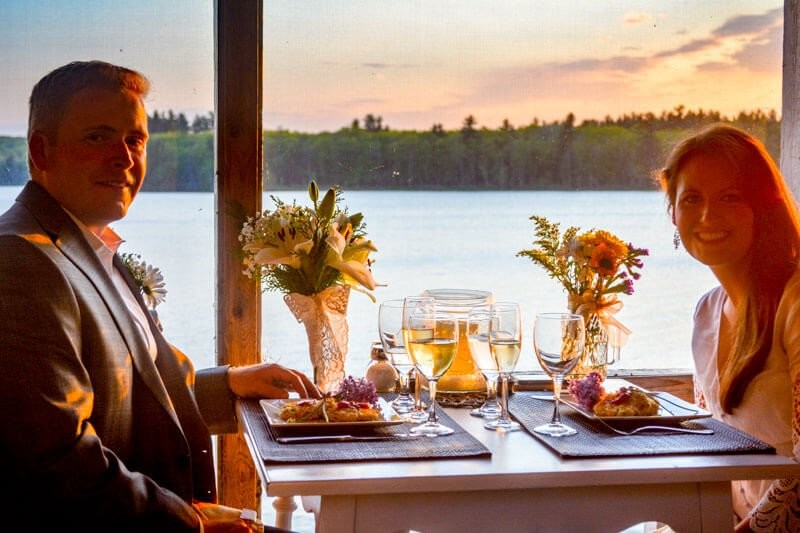 Ultimate Romance Dinner at Wolf Cove Inn