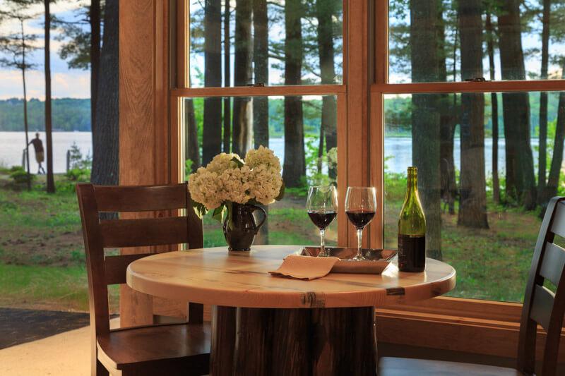 Romantic Cabins in Maine