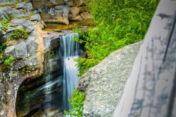 waterfalls in maine