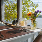 Romantic Maine Bed and Breakfast dining set