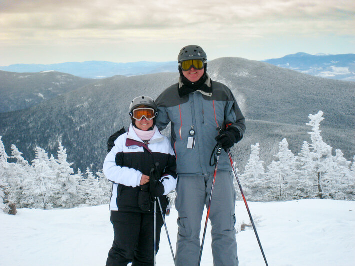 Skiing at Sugarloaf