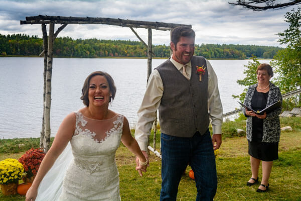 Intimate Lakefront Wedding Packages Elope To Maine