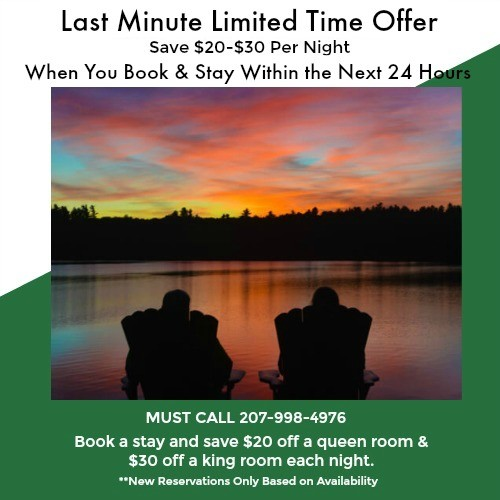 Wolf Cove Last Minute Special