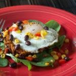 Southwestern Egg breakfast