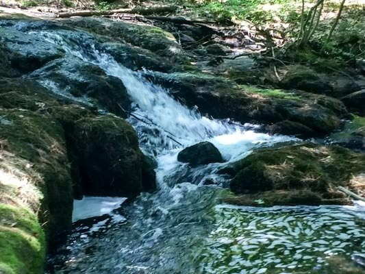 top maine waterfall hikes - Wortherly Brook