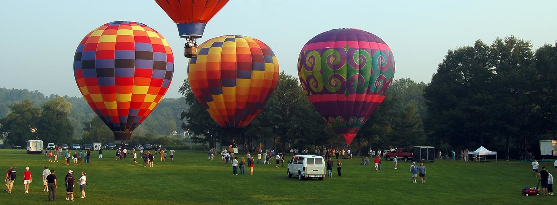Hot Air Balloon Festival in Maine