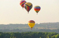 Hot air balloons in Maine