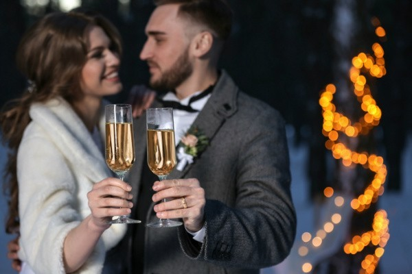 Intimate Elopement Packages for Your Maine Winter Wedding