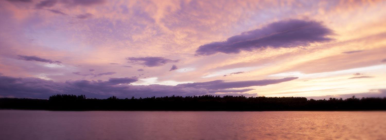 sunset tripp lake