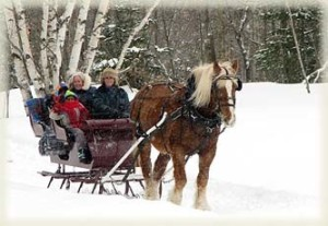 winter activities in Maine