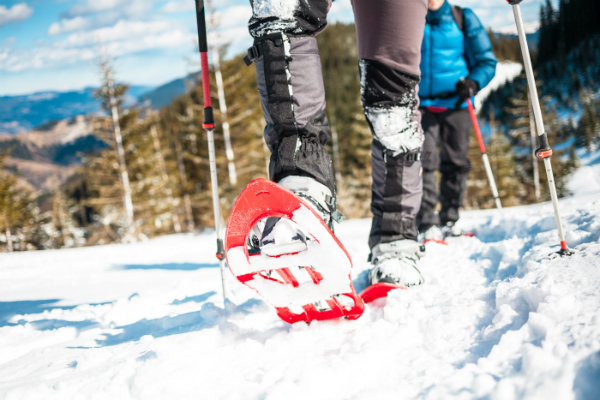 Winter Activities in Maine - Snowshoeing