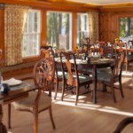 The Wolf Cove Inn dining room