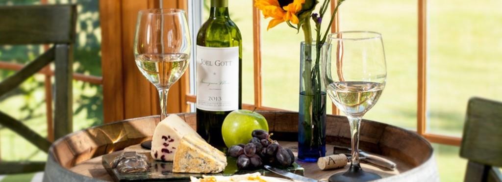 Maine wine tasting